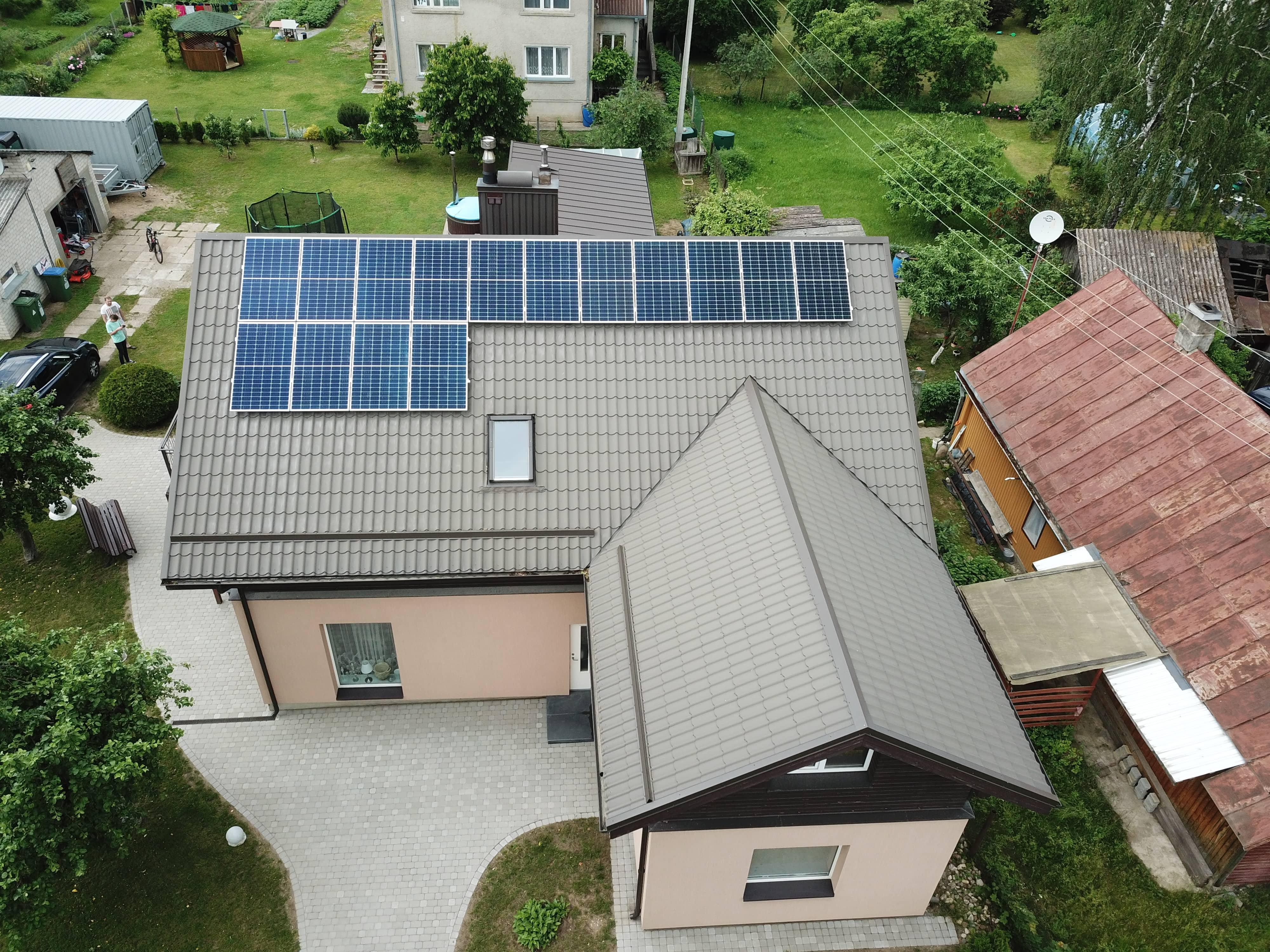 APVA parama saulės elektrinėms 2021